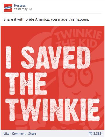 sosial media twinkie