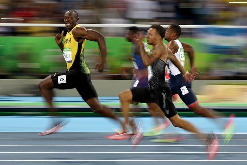 benchmarking usain bolt